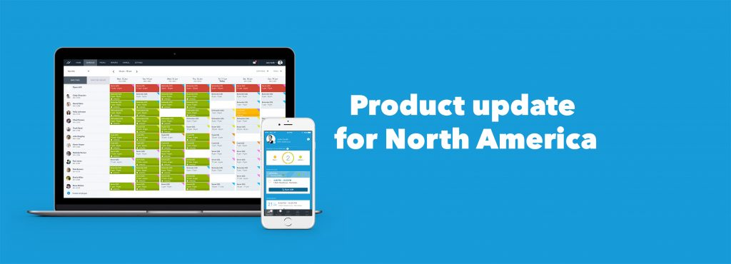 New product update for North America