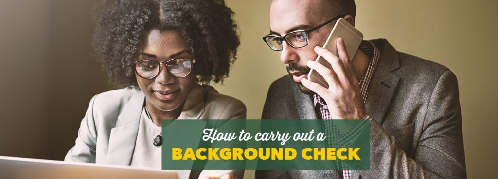 What you need to know about running a background check