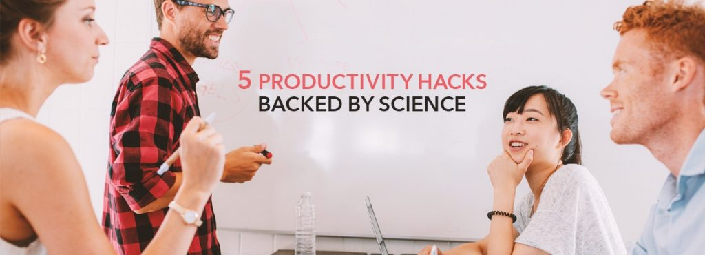5 Science-Proven Productivity Hacks for Managers