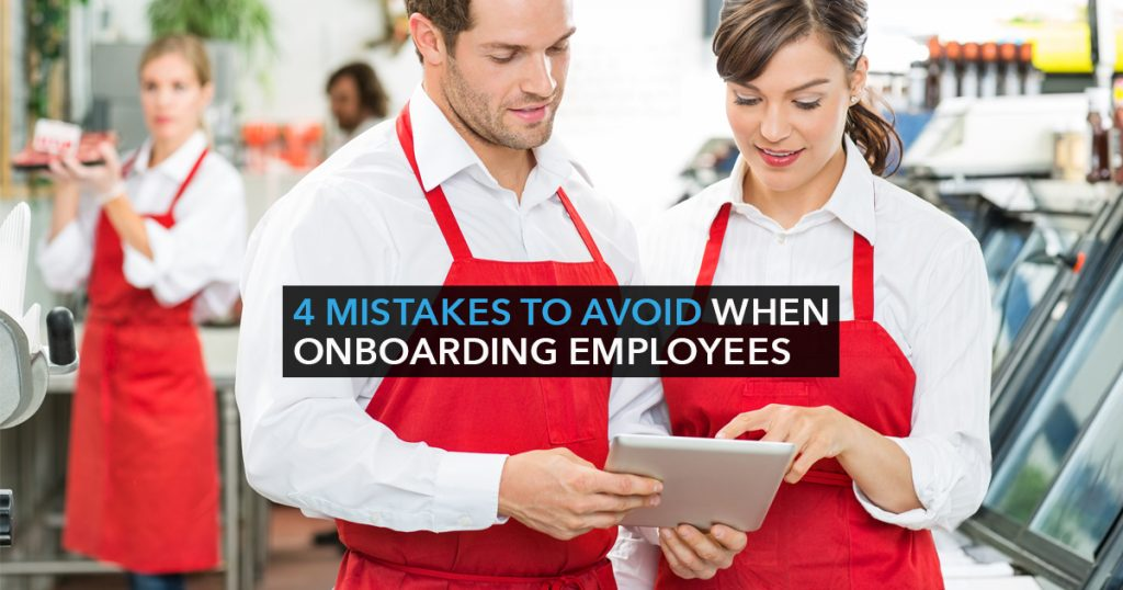 4 Mistakes to avoid when onboarding employees