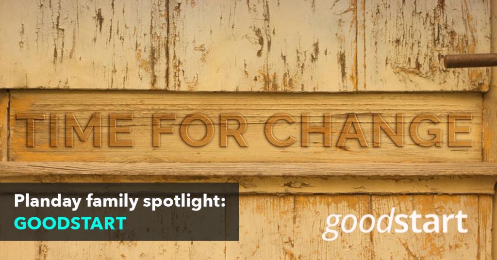 Customer Spotlight: Goodstart