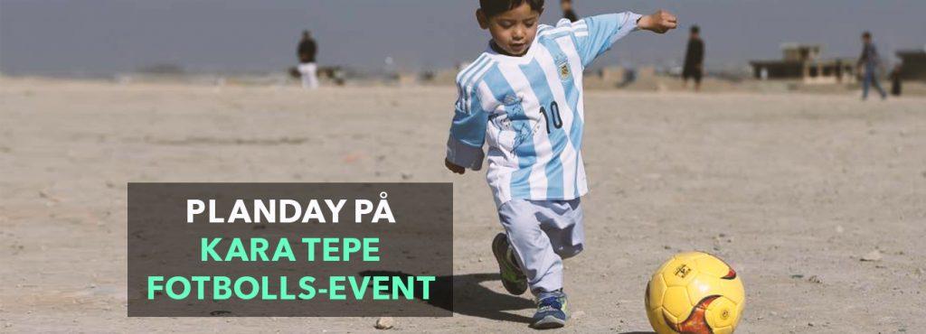Planday deltar vid FutbolNet-festivalen för flyktingar på Lesbos
