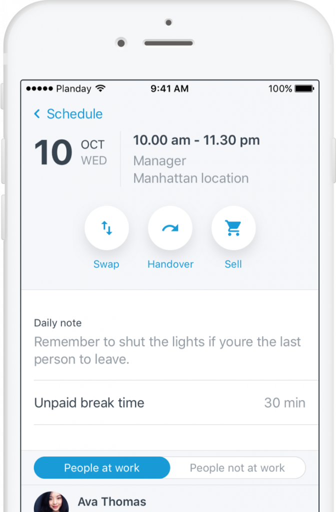 less time on scheduling tasks