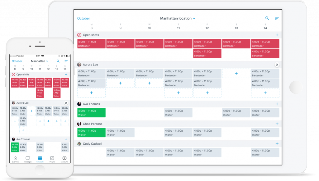 Quick scheduling and communication