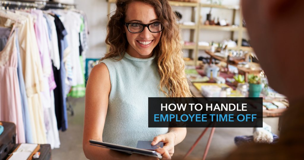 How to handle employee time off