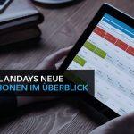 Plandays neue Funktionen im Überblick