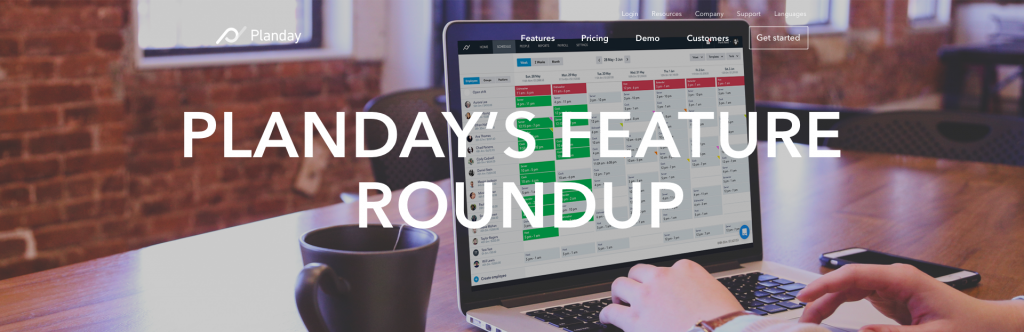 Planday's quarterly feature roundup
