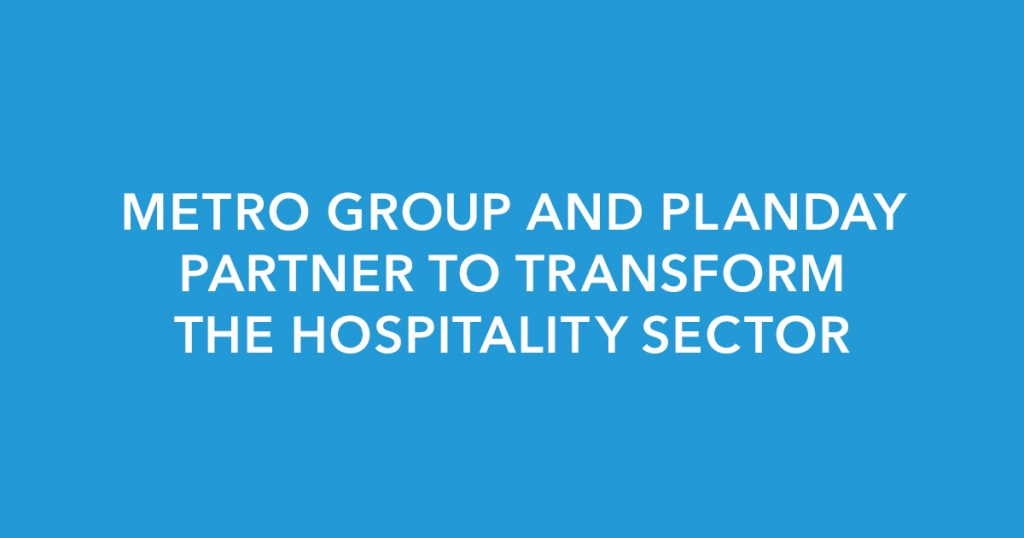 METRO GROUP and Planday partner to transform the hospitality sector