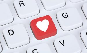 Image of heart shaped key