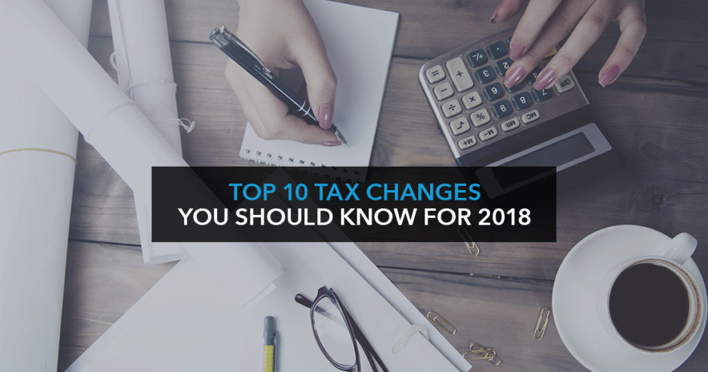 UK special: Top 10 tax changes you should know for 2018
