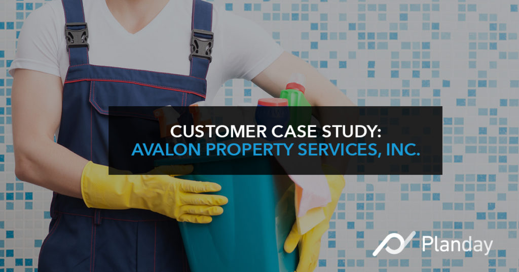 Customer case study: Avalon Property Services, inc.