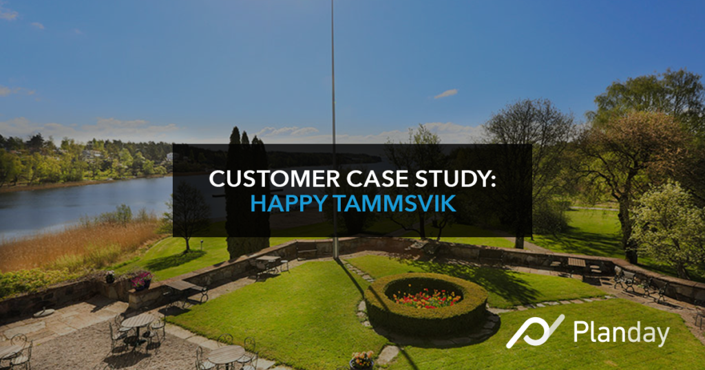 Customer case study: Happy Tammsvik