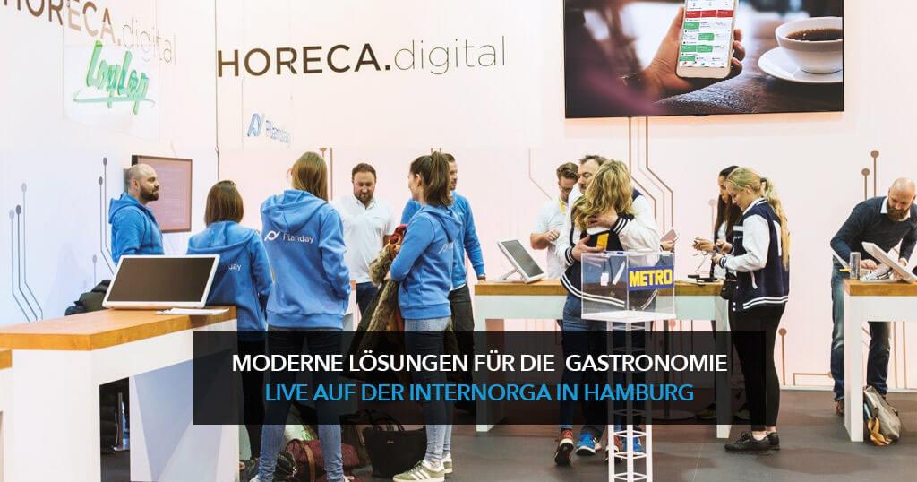 HOSPITALITY.digital: moderne Lösungen für die Gastronomie live auf der Internorga in Hamburg