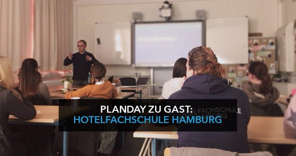 Planday zu Gast: Hotelfachschule Hamburg
