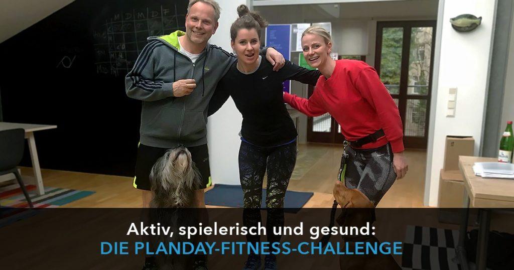 Aktiv, spielerisch und gesund: die Planday-Fitness-Challenge