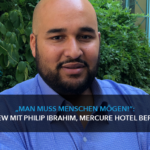 Über Mitarbeitermotivation, Arbeitsklima und Digitalisierung: Philip Ibrahim, Direktor des Mercure Hotel Berlin City