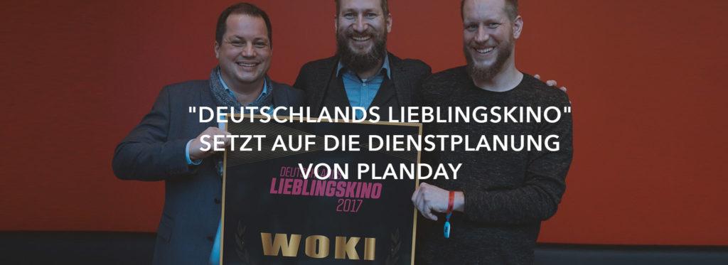 """""""Deutschlands Lieblingskino"""" setzt auf die Dienstplanung von Planday"""