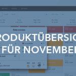 Produktübersicht November