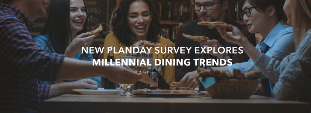 Planday survey explores the Millennial trends shaping the future of dining