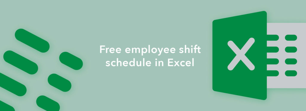 Free Employee Shift Schedule in Excel