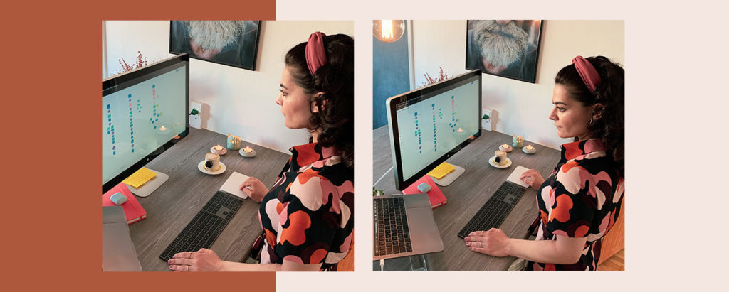 Holly Samimi Head of Engineering Operations at Planday working from home