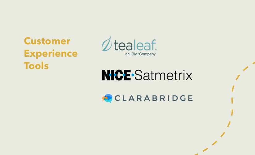 customer experience tools logos