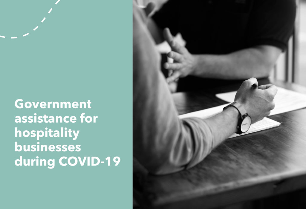 Government assistance for hospitality businesses during COVID-19