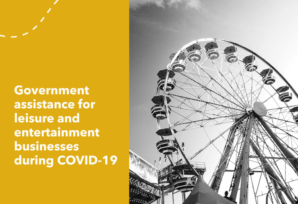 Government assistance for leisure businesses during COVID-19
