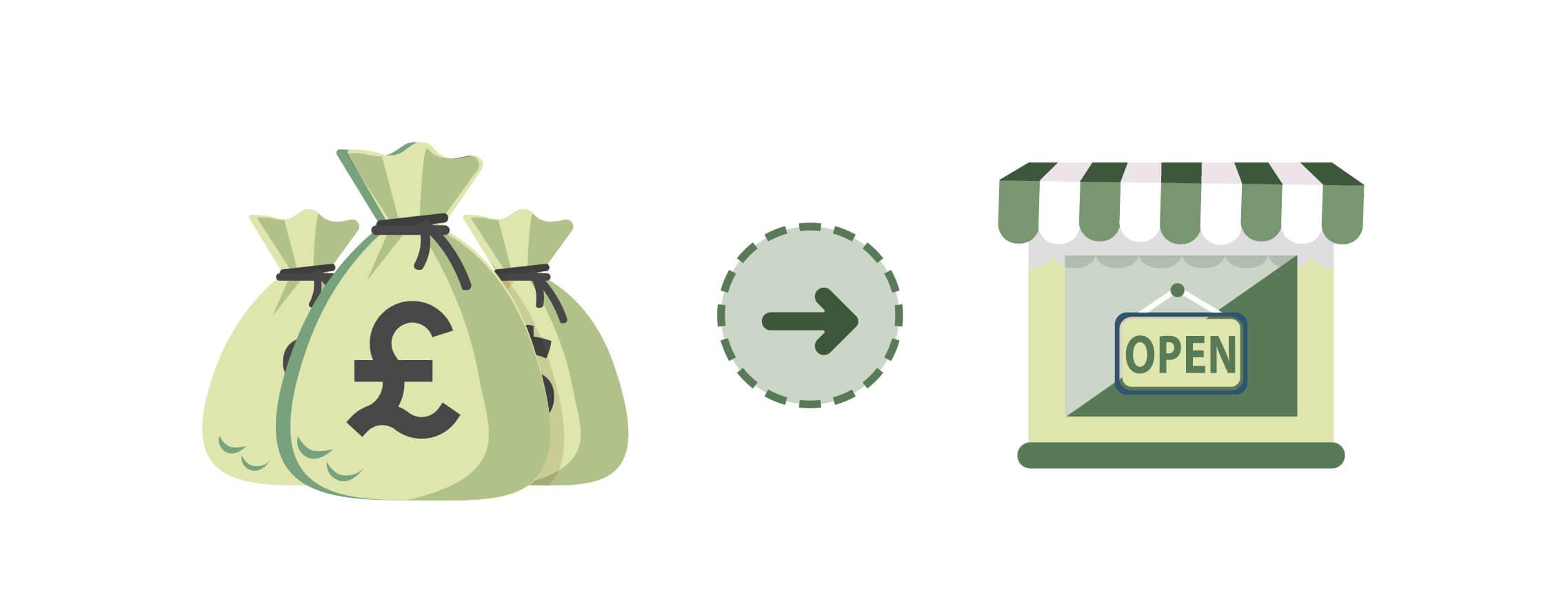 Cash grant illustration