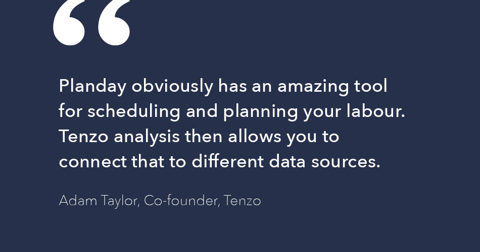 Adam Taylor quote about Planday