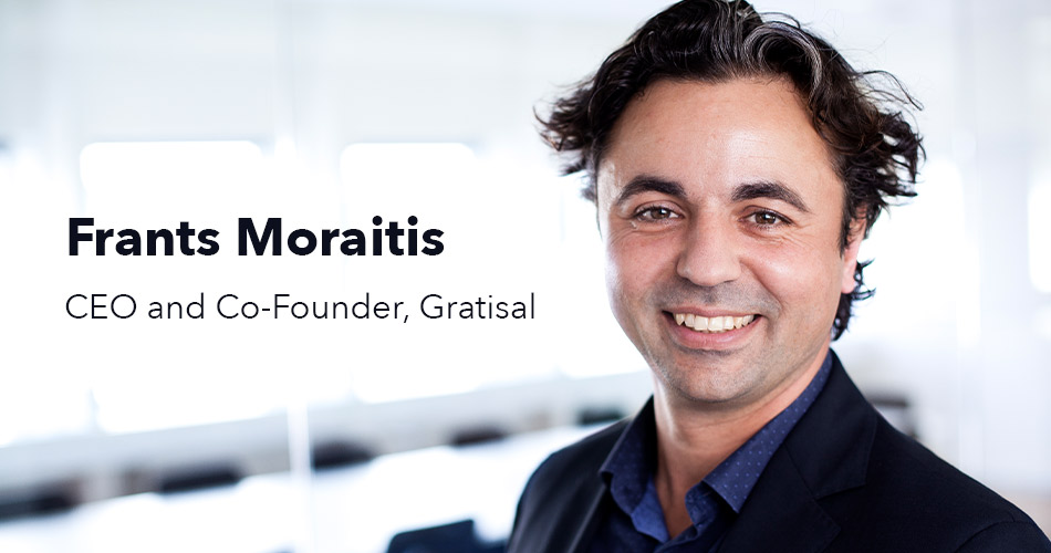 Frants Moraitis, Gratisal's CEO and Co-Founder