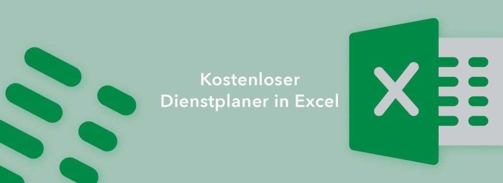 Kostenlose Vorlage für die Dienstplanung in Excel