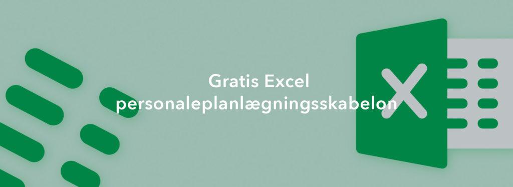 Gratis Excel personaleplanlægningsskabelon