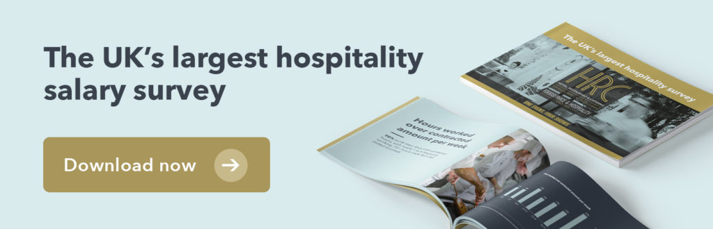 Planday and HRC UK's hospitality salary survey