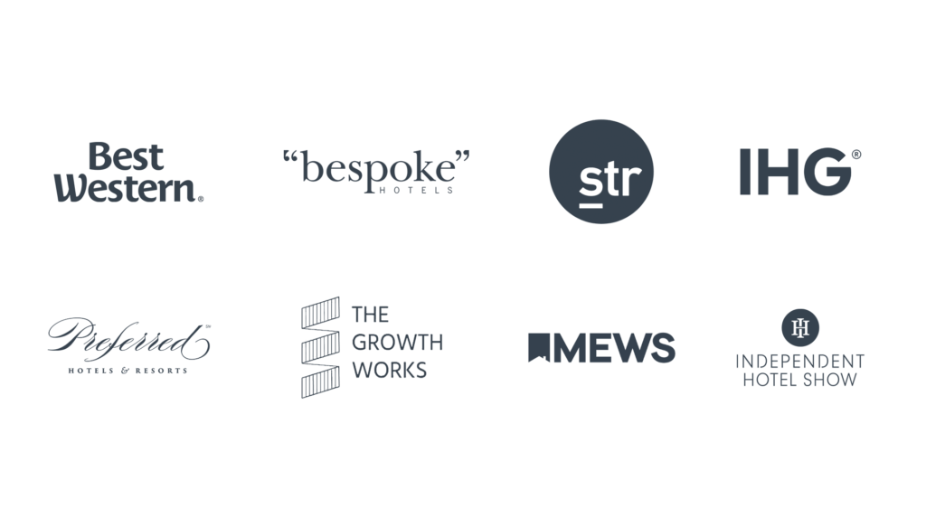 The Global Hotel Summit speakers logos